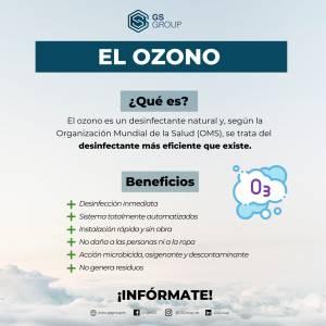 El ozono como desinfectante