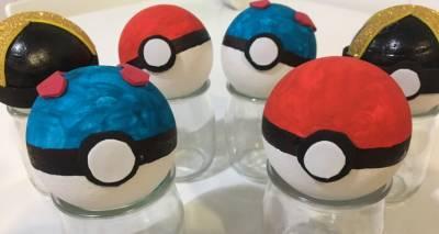 Manualidades con niños: Bolas Pokemon