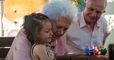 DOS MÁS EN LA FAMILIA: Una berza en el cielo. Descansa, abuela