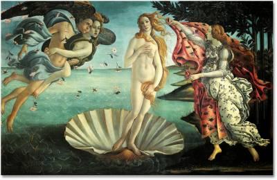 'El nacimiento de Venus' de Sandro Botticelli (II)