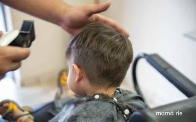 Cómo cortar el pelo a un niño en casa. Nuestra experiencia.