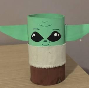 Manualidades con niños: Baby Yoda