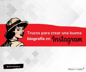 Trucos para crear una biografía de Instagram
