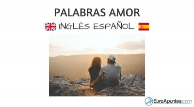 Vocabulario del amor en inglés y español