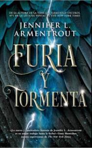 Reseña: Furia y tormenta - Jennifer L. Armentrout