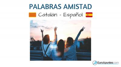 Vocabulario de la amistad en catalán