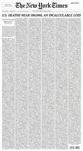 La madurez de un país en una portada de periódico
