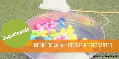 Juegos de agua refrescantes para pasar un verano divertido