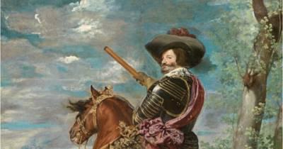 .: Velázquez – Gaspar de Guzmán, conde-duque de Olivares a caballo - PINTORES ANDALUCES