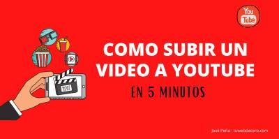 Como subir un video a Youtube em 5 minutos