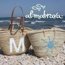 Capazos de playa personalizados