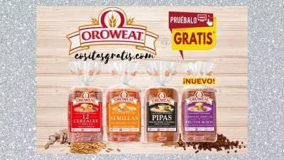 Prueba el Pan de Molde Gratis Oroweat