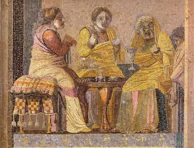 La vejez de la mujer romana
