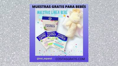 Muestras gratis para Bebé Instituto Español
