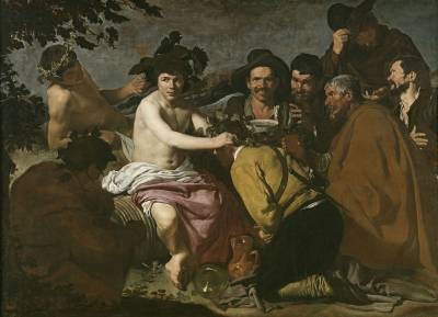 El triunfo de Baco o Los borrachos, Velázquez (obra)