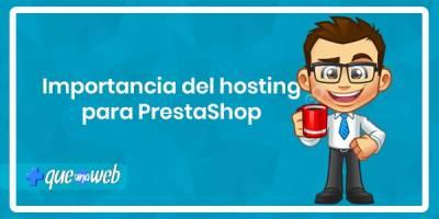 Importancia del hosting para PrestaShop