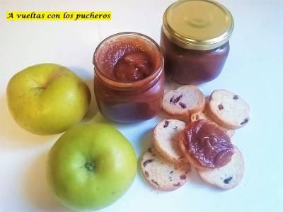 Mantequilla de manzana o Apple butter - crock pot y tradicional