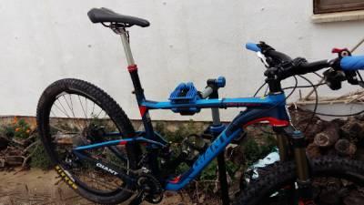 Caballete para bici