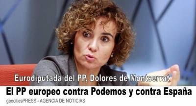 Las uñas del Partido Popular en la UE para que no financie a España a un estado de bienestar