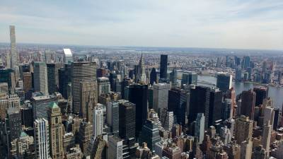 Todos los barrios de Manhattan, la isla universal