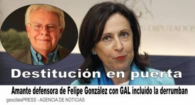 Margarita Robles se descoloca del Ejecutivo, defendiendo a de los Cobos y a Felipe González con los GAL