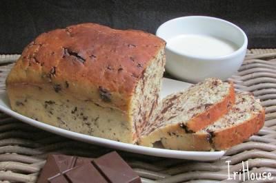 Receta de pan de leche con pepitas de chocolate