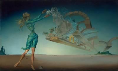 Arte 'Salvador Dalí, Trilogía del Desierto Mirage-1946'
