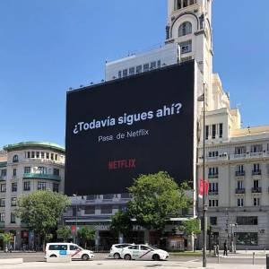 La campaña de exterior más creativa de Netflix