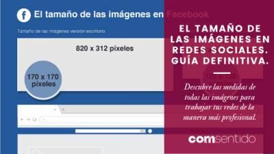 El tamaño de las imágenes en redes sociales. Guía definitiva 2020