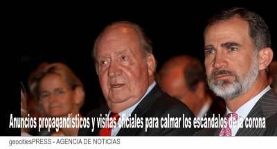 Los Reyes en TOUR por España durante este mes y todo julio para sacudirse los escándalos