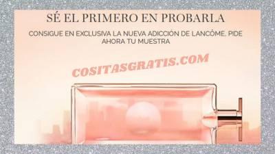 ▷▷ Perfume Idôle De Lancôme Muestras Gratis. Consigue El 1º