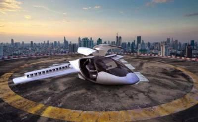 Startup de taxis voladores