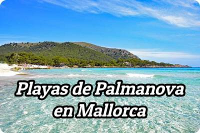 ▷ Playas de Palmanova en Mallorca - ¿Cuántas hay?