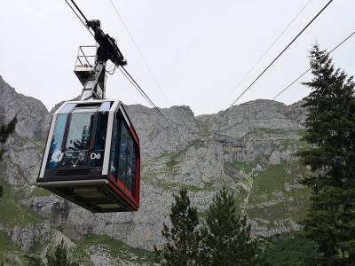 Teleférico de Fuente Dé, en el corazón de los Picos de Europa
