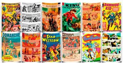 Western Comics, las historietas del viejo oeste - Historietamania. com