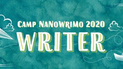 Camp Nanowrimo Julio 2020