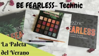 La Paleta Del Verano: Be Fearless De Technic (Review, Swatches, Look)