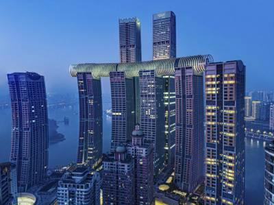 The Crystal: el rascacielos horizontal en Chongqing, China