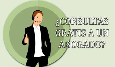 ¿Qué consultas podemos hacer a un abogado de forma gratuita?