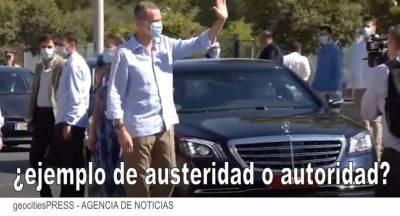 El rey compra un Mercedes en 550mil en medio de la crisis, despidos y cierres para su lujosa gira por España