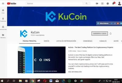 Kucoin: Exchange, Trading, Holding, Stake y Concursos ¡de verdadera calidad!