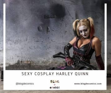 Sexy Cosplay Harley Quinn | Galería de imágenes | Blog de Comics