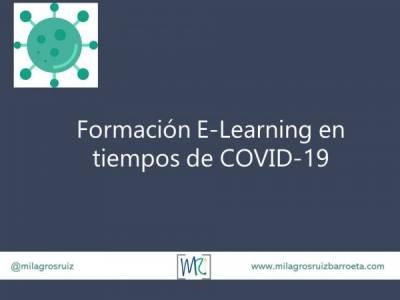 Formación E-Learning en tiempos de COVID-19 - Milagros Ruiz Barroeta