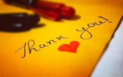 El éxito de ser agradecido – La vida de alguien…