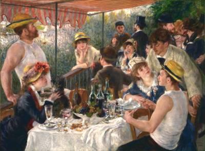 Renoir y su almuerzo más popular