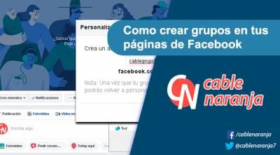 Como crear grupos en tus páginas de Facebook
