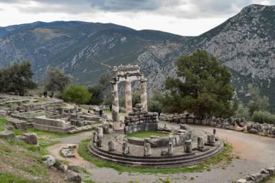 Qué Ver En Delfos - El Oráculo De La Antigua Grecia Y El Ombligo Del Mundo