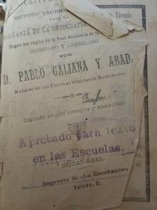 Libros antiguos: El legado del maestro Galiana