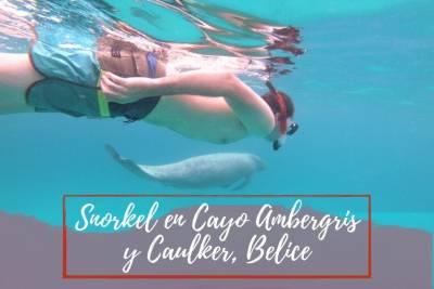 Snorkel en CayoAmbergris y Caulker - Belice