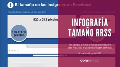 El tamaño de las imágenes en redes sociales | coMsentido